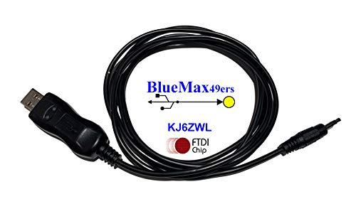 BlueMax49ers FTDI USB Programming Cable for QYT KT-7900 KT-8900...