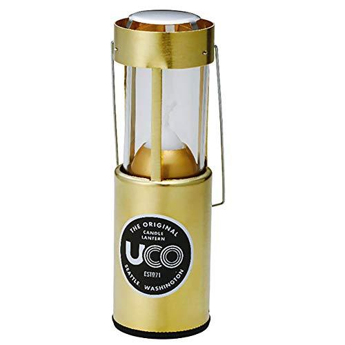 UCO(ユーコ) アウトドア キャンプ キャンドルランタン [ブラス] 24350