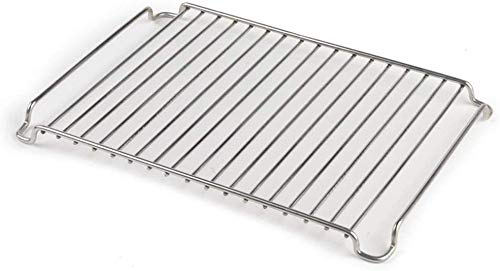 Oneida Stainless Steel Cooling and Roasting Rack 28 x 20 cm, Silver, 280mm x 200mm