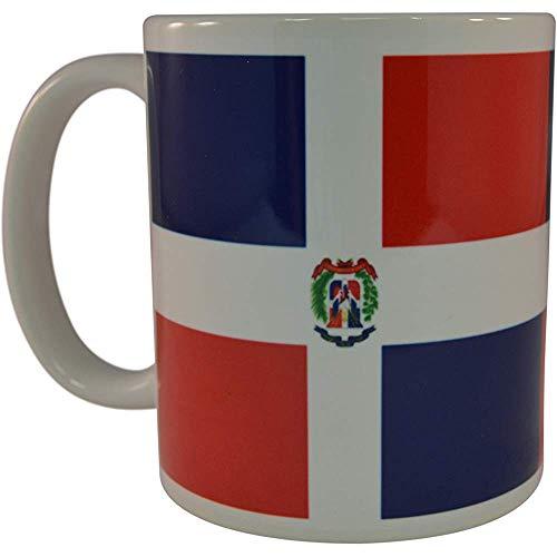 Taza de café con bandera dominicana Taza de la novedad Gran idea de regalo para hombres Mujeres República Dominicana
