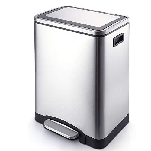 TSSM 30L pedaal vuilnis kan grote capaciteit classificatie deodorant gezondheid kleine kantoor badkamer keuken of hotel woonkamer gebruik