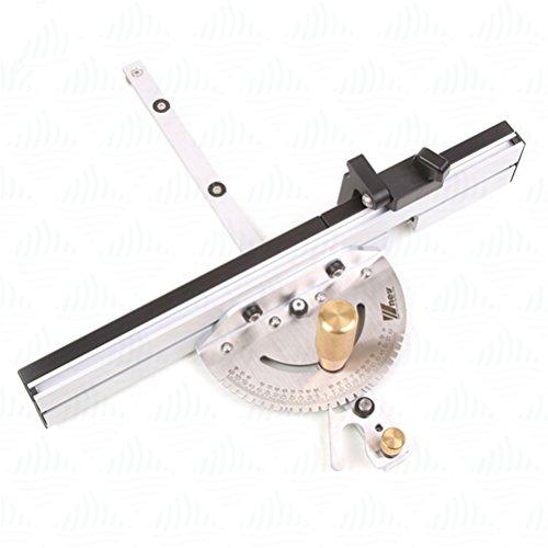ascendons Präzision Holz DIY Werkzeug Miter Gauge und Box Gelenk Jig Kit mit verstellbarem Flip Stop