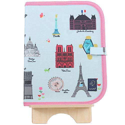 Jaq Jaq Bird Doodle It & Go erasable mat - Paris