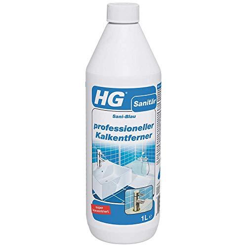 HG Professioneller Kalkentferner 1L – Kraftvoll und Konzentriert - Entfernung von hartnäckigen Kalkablagerungen und Kalkstein