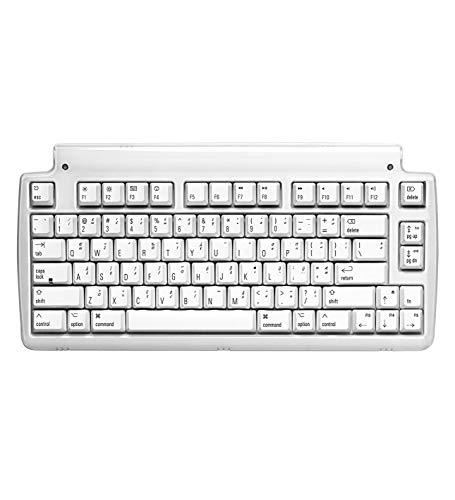 Matias Mini Tactile Pro USB-Tastatur, kabelgebunden, ohne Kabel, mit integriertem Hi-Speed USB 2.0 Hub, kompatibel mit Mac