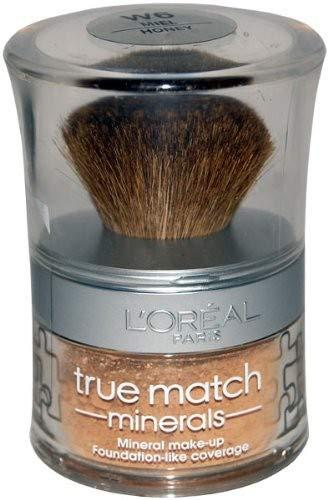 L'Oréal, fondotinta in polvere, minerale, Accord Parfait D6,Miele
