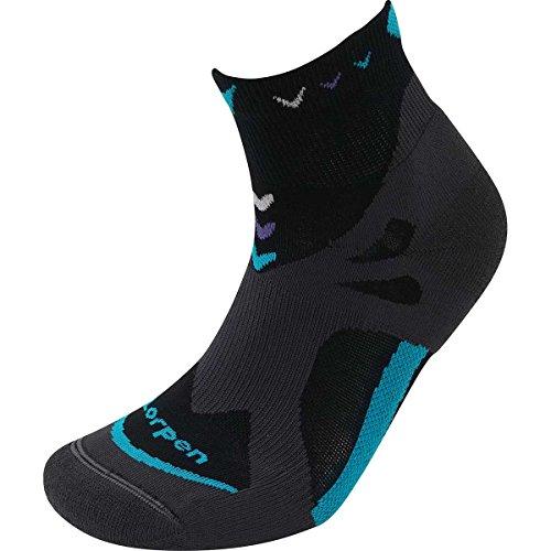 Lorpen T3 Trail Running Ultra Light Socken, Damen, T3 Women's Trail Running Ultra Light Socks, schwarz, Medium