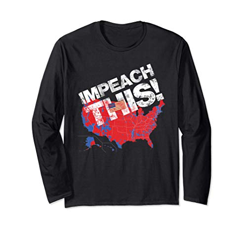 Impeach This! 2016 Electoral Map Conservative Gift Long Sleeve T-Shirt