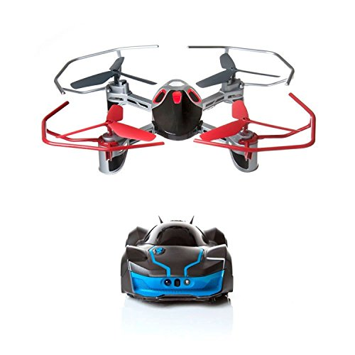 OLSUS RC Drone Quadcopter Vehicles Robotic Enhanced R.E.V. AIR Toy BLACK BLUE
