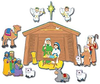 Nativity Bulletin Board Cut Out Set