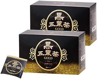 黒五葉茶ゴールド 30包 2箱セット ダイエット キャンドルブッシュ 黒生姜 お茶 ダイエット茶 ティーバッグ