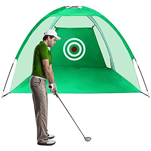 Lateefah Hitting Training Aids Practice for Backyard Driving Range Chipping with Target Carry Bag for Indoor Outdoor Sports