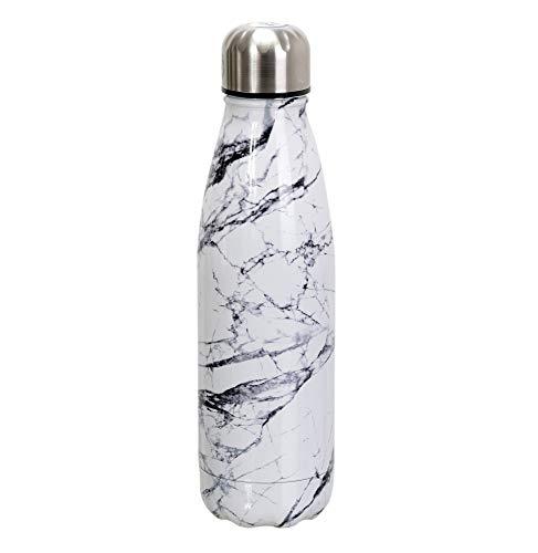 Botella de transporte de 50 cl, efecto mármol