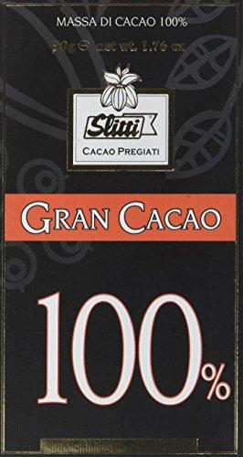 Slitti Tavoletta Grancacao 100% - 5 Pacchi da 50 g