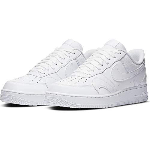 Nike Air Force 1 '07 LV8 2, Zapatillas de básquetbol para Hombre, White White White, 40 EU