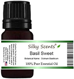Basil Sweet Essential Oil (Ocimum Basilicum) 100% Pure Therapeutic Grade - 15 ML