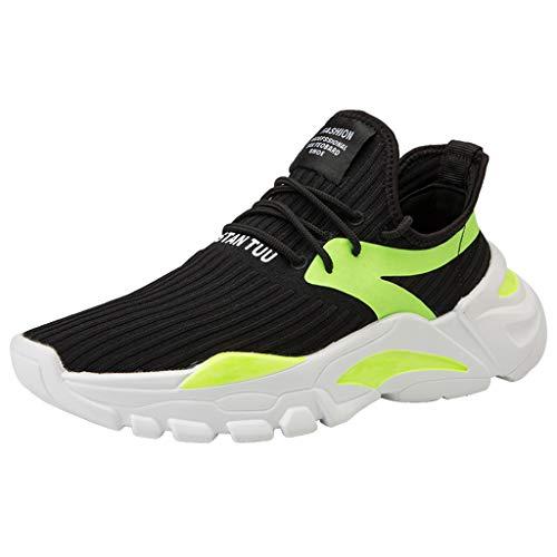 TMOTYE Damen Herren LaufschuheOutdoor Sport Schuhe rutschfeste Mesh Atmungsaktiv Sneakers Schnürer Leichte Freizeitschuhe