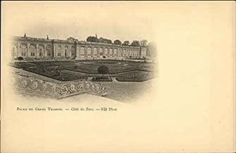 Palais du Grand Trianon Versailles, France Original Vintage Postcard
