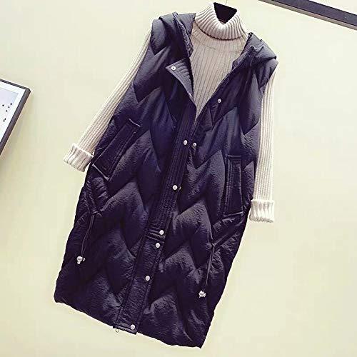 No brand lange stijl Loose Thick Signore vest warm vest winter Panciotto New Large Size Vrouwen Katoen T-Shirt Kleur Solido Gilet Femi
