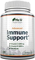 ✔ ALL IN ONE IMMUNE COMPLEX - Boost your immune defense with our immune support complex designed to help strengthen the body's defenses and your immune response. Each of our capsules contains a highly potent trio of immunity boosting ingredients incl...