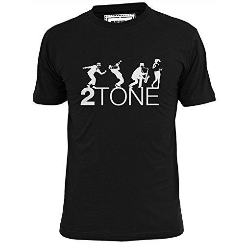 Ripped Ink Clothing Co 2 Tone Group męska koszulka SKA 2-tonowa