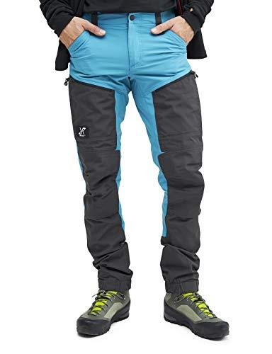 RevolutionRace GPX Pro Pants Herren Wasserabweisende, Atmungsaktive und Strapazierfähige Outdoorhose zum Wandern, Trekking, Camping, Klettern und Jagen, Dusty Blue, XS