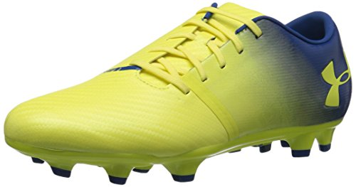 Preisvergleich Produktbild Under Armour Herren Fußballschuh Spotlight BL Firm Ground,  Gelb (Tokyo Lemon (300) / Elementar),  45.5 EU
