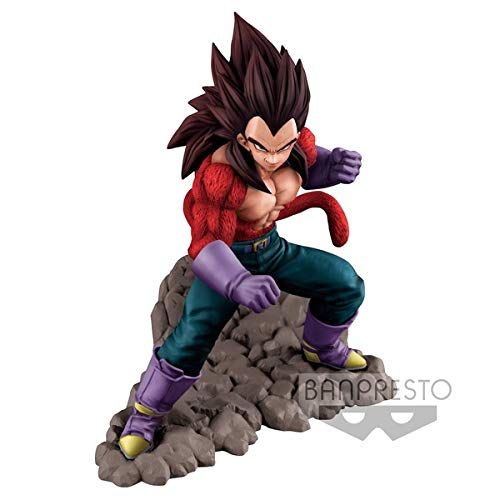 Banpresto. Dragon Ball - Vegeta SSJ4 Super Saiyan 4 Figura 16 cm