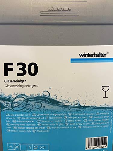 Winterhalter Gläsermaschinen Reiniger F-30 12 kg Kanister für gewerbliche Gläserspülmaschinen
