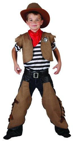 Costume cowboy bambino 7 a 9 anni