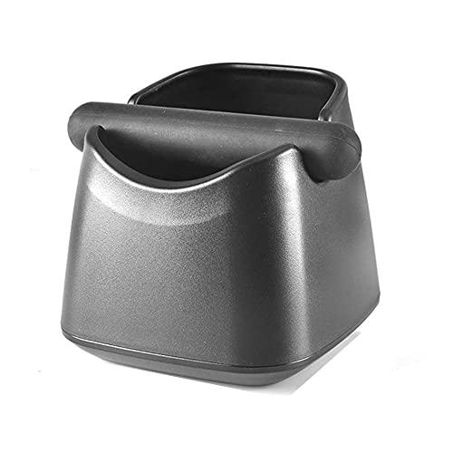 JLKDF Caja de Golpe de café, contenedor de posos de café Antideslizante, para Accesorios de Herramientas de máquina de café, Base Antideslizante, Fuerte y Resistente (C)