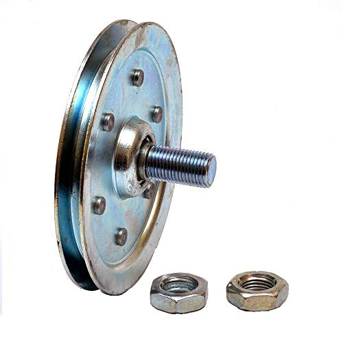Read About Garage Door 4 Inch Sheave Pulley with Stud