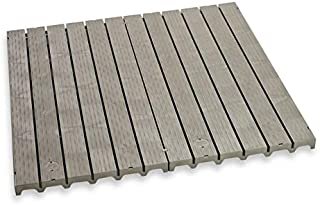 MattsGlobal Shop Original Kennel Deck Flooring System - Uniquely Constructed to Allow Easy Drainage & Air Circulation - 100% Weather-Resistant Polypropylene Material - Use in Kennels, Runs, and Cages