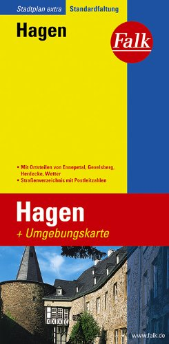 Falk Stadtplan Extra Standardfaltung Hagen