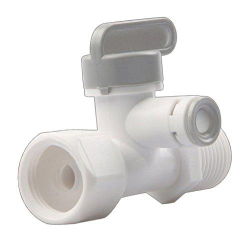 F Fityle Robinet de Té d'alimentation de Purificateur de Pom Système de Ro de 1/4 Pouce pour L'installation de Filtre