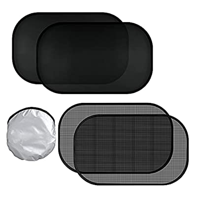 Car Sun Shade for Side Window, Baby Sunshade Protect for Car, Sun Protection Cling Shade 20