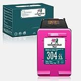 LUCASCOLO Cartuchos de tinta remanufacturados para HP 304 XL Combo Pack de uso con HP Envy 5020 5030 5032 5050 5055 Deskjet 2630 2620 3720 3730 3733 2622 2634 2652 AMP 100 120 Impresora 125 (1 color)