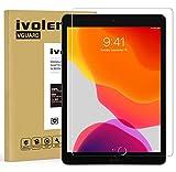 ivoler Panzerglas Schutzfolie für iPad 10.2 Zoll 2020/2019 (iPad 8./7. Generation) / iPad Air 3 / iPad Pro 10.5 Zoll, 9H Festigkeit Panzerglasfolie, Anti-Kratzen Folie, Anti-Bläschen Bildschirmschutzfolie