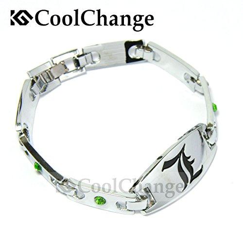 CoolChange Death Note L Metall Armband mit Deko Steinen