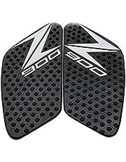 Motorrijwiel Tankpads Voor Kawasaki Z900 Z900 2017-2018 2019 2020 Motorfiets Protector Anti Slip Tank Pad Sticker Gas Knie Grip Tractie Side Decal (Color : A)