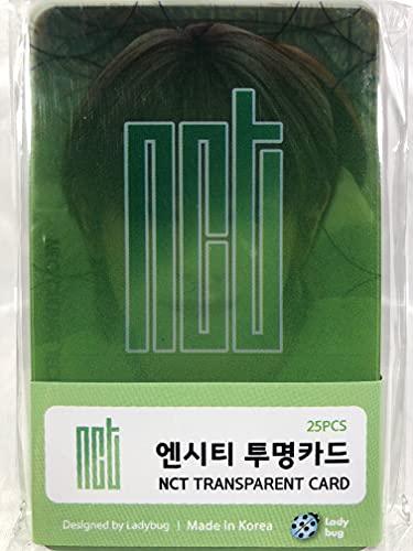 NCT エヌシーティー グッズ / 透明 フォトカード 25枚セット - TRANSPARENT CARD 25pcs [TradePlace K-POP 韓国製]