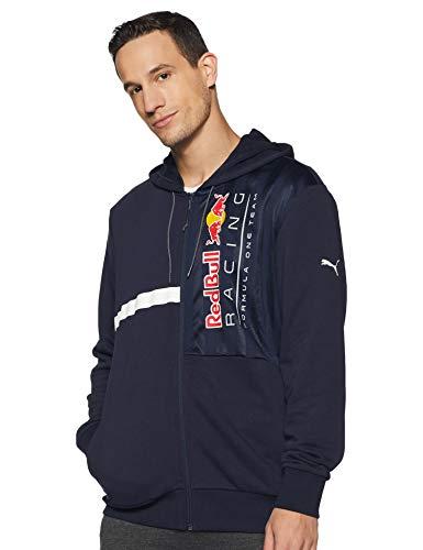PUMA Red Bull Racing Herren Kapuzen-Sweatjacke Night Sky XL
