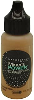 Maybelline Mineral Power Natural Perfecting Foundation, Pure Beige 1 fl oz (30 ml)