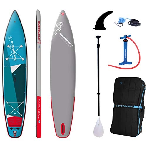 Starboard 12'6 Touring Zen Single Chamber SUP 2021 + remo.