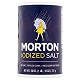 Morton Iodized Table Salt, 26 Oz, pack of 2