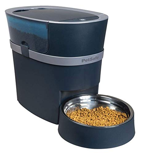PetSafe Smart Feed Automatic Dog and Cat Feeder, Wi-Fi Enabled Pet Feeder, Smartphone App for iPhone...