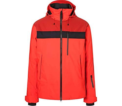 Bogner Fire + Ice Mens Damian Coloured Rot, Herren Jacke, Größe 48 - Farbe Lava Red