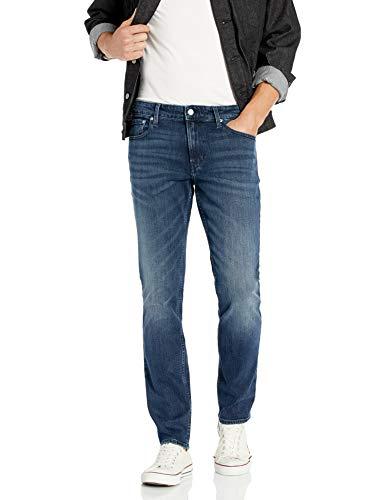 Calvin Klein Men's Slim Fit Jeans, Secaucus, 36W x 32L