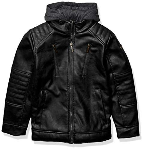 Chaqueta de Abrigo para niño de la Ropa Interior de la Ropa de Abrigo de la Ropa Inglesa, Morado y Negro, 2 Años