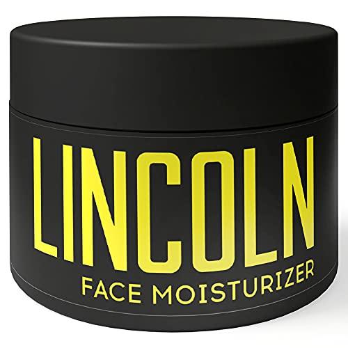 LINCOLN Anti Aging Creme - Natürliche Männer Gesichtscreme als Feuchtigkeitscreme für Männer Gesichtspflege, Gesichtscreme Männer, Nachtcreme Männer, Pure for Men as Moisturizer Face Care - 100ml